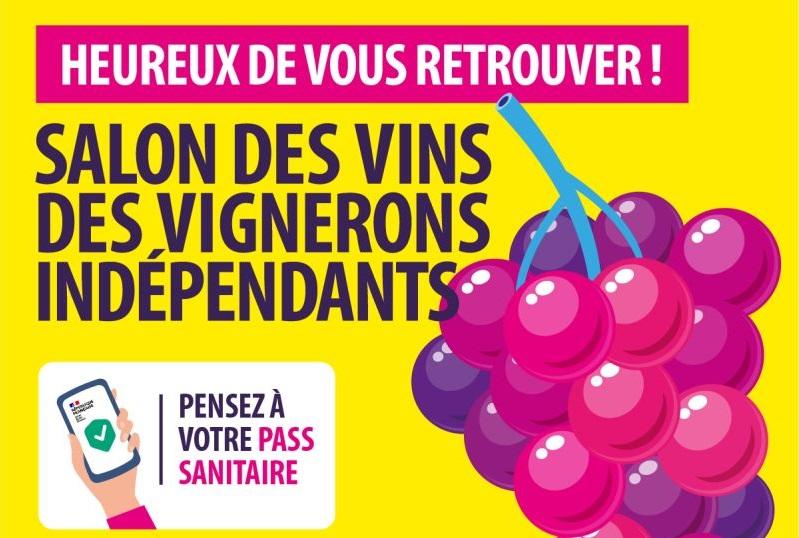 visuel réouverture des salons des vins