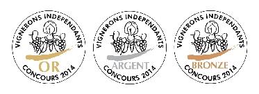 Médaille d'or d'argent de bronze