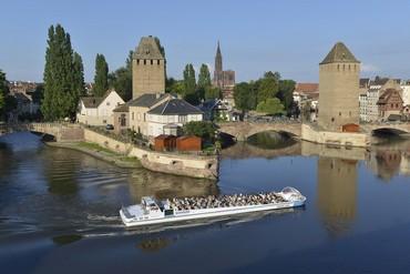 Découvrir Strasbourg en bateau  mouche