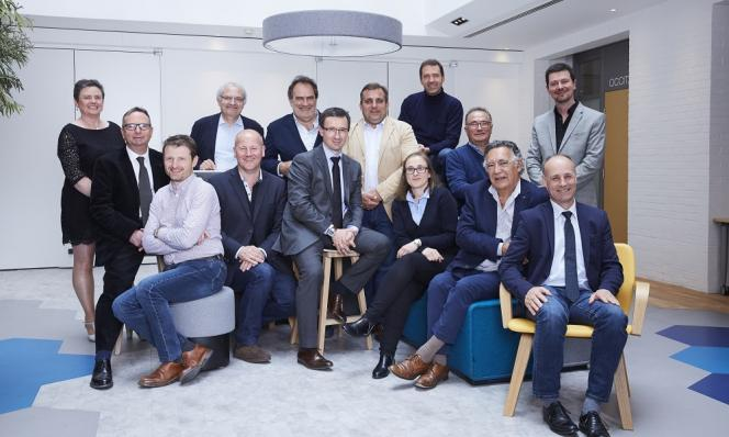Les membres du Bureau national des Vignerons Indépendants 2019