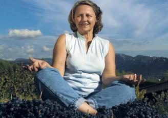 Repirez soyez zen au milieu des vignes
