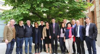 les membres du bureau national