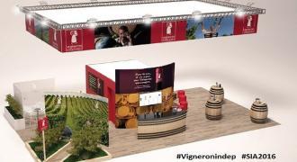 SIA 2016 Stand des Vignerons Indépendants Pavillon 2.30 A57