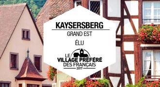 Kayserberg village préféré des français ; Alsace